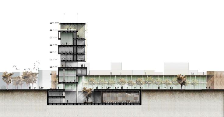 Galería - López y Montoya Arquitectos, mención honrsosa en concurso de diseño de la Alcaldía de Ciudad Bolívar - 14
