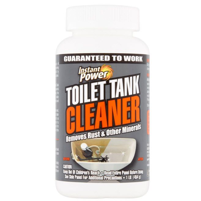 Toilet Tank Cleaner Stain Rust Lime Calcium Remover Cleans Rust #InstantPower