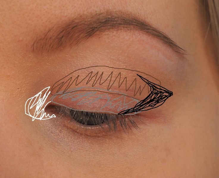 How to apply eyshadow, Easy eyeshadow technique