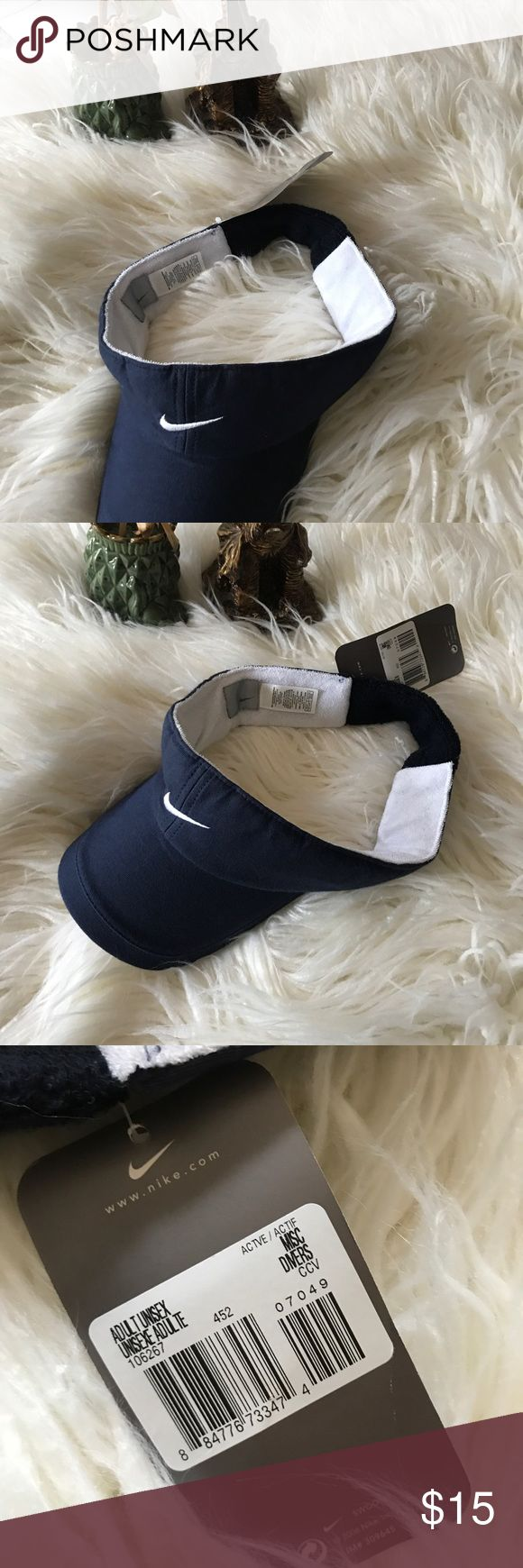 New nike Visor New with tag Nike golf/tennis Visor with stretchable band. Unisex Nike Accessories Hats