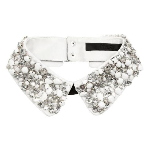 Collar #collar #detail #jewelled #sequins