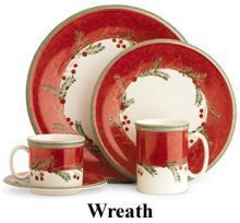 57 Beautiful Christmas Dinnerware Sets: Christmas Dinnerware, Holiday China