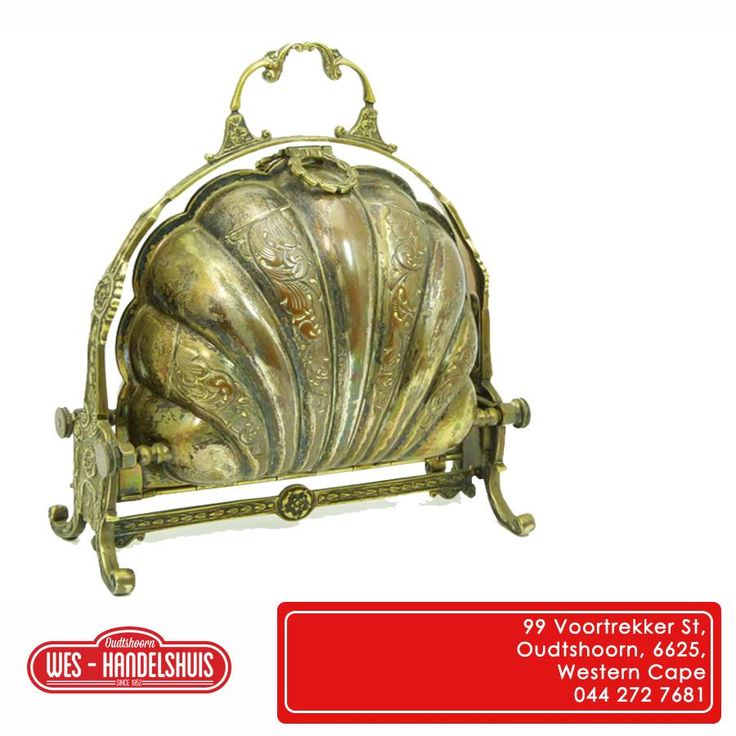 This Thursday we thought we would share this antique English bread warmer with you, what do you think of this handcrafted design? #tbt #bakery Hierdie Donderdag will ons die antieke Engelse brood warmer met julle deel, Wat dink julle daarvan?