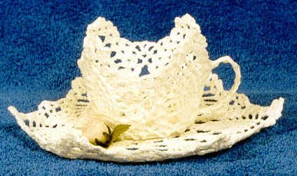 Moms Pineapple Teacup And Saucer Creative Stitchery