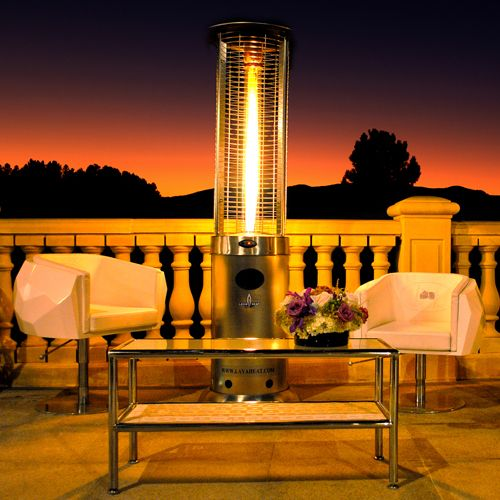 Charming This Lava Heat Opus Propane Patio Heater With A Classic Look Features  Cutting Edge Technology