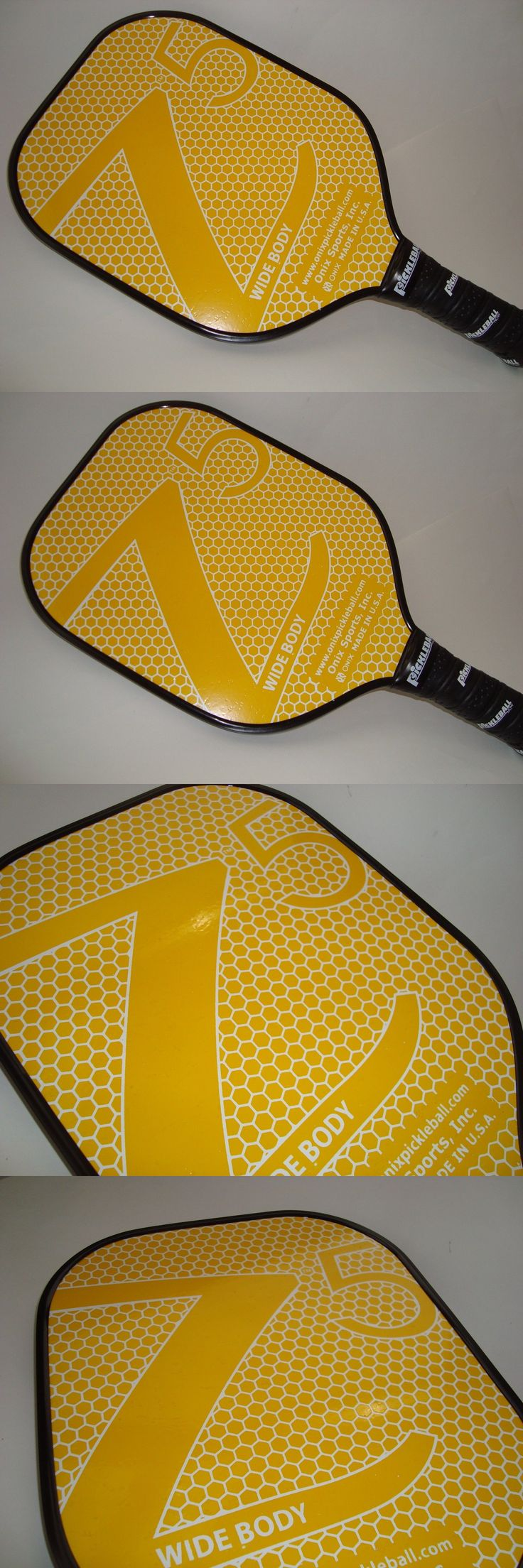Other Tennis and Racquet Sports 159135: New Onix Z5 Composite Pickleball Paddle Nomex Core Strong Light Yellow -> BUY IT NOW ONLY: $79.99 on eBay!