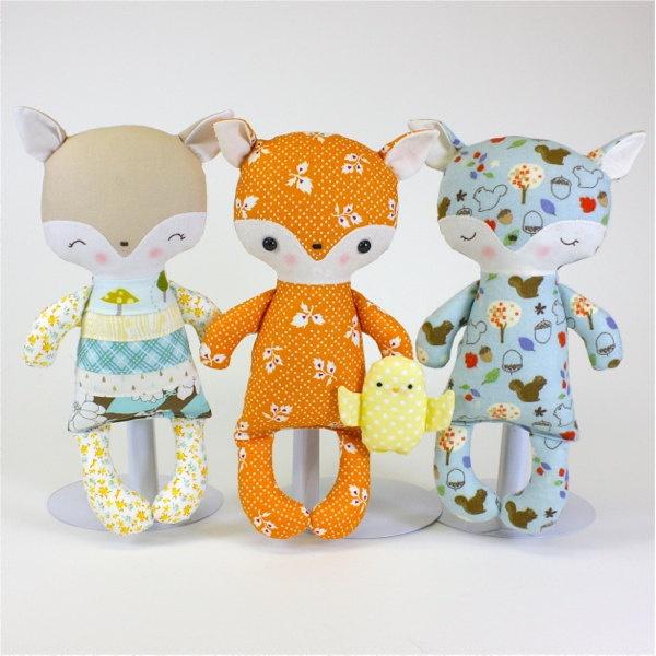 Fox Baby PDF Doll Pattern