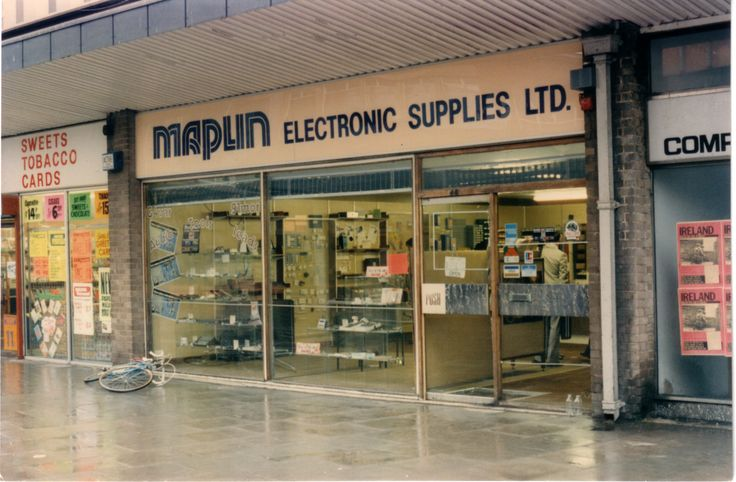Old style Maplin Electronic Supplies store in Birmingham