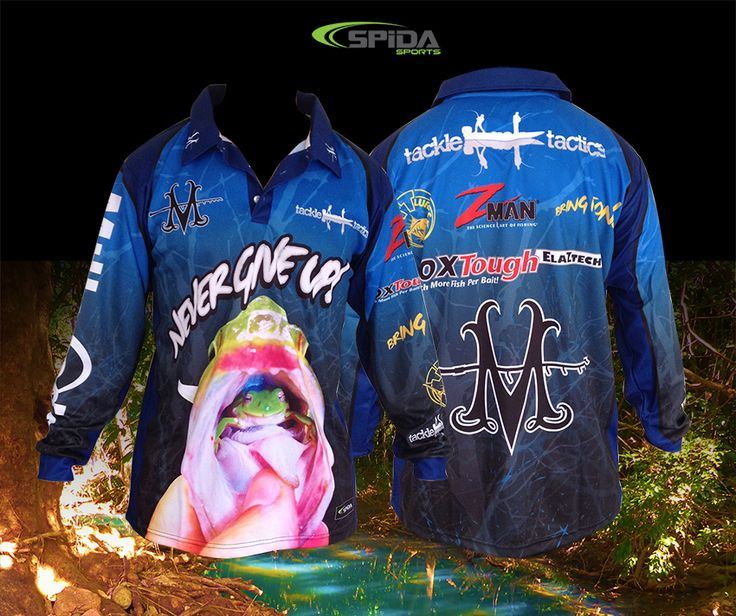 Got a tournament coming up? Get your customised sublimated fishing shirts through us now http://www.spidasports.com.au/sublimated-fishing-shirts/