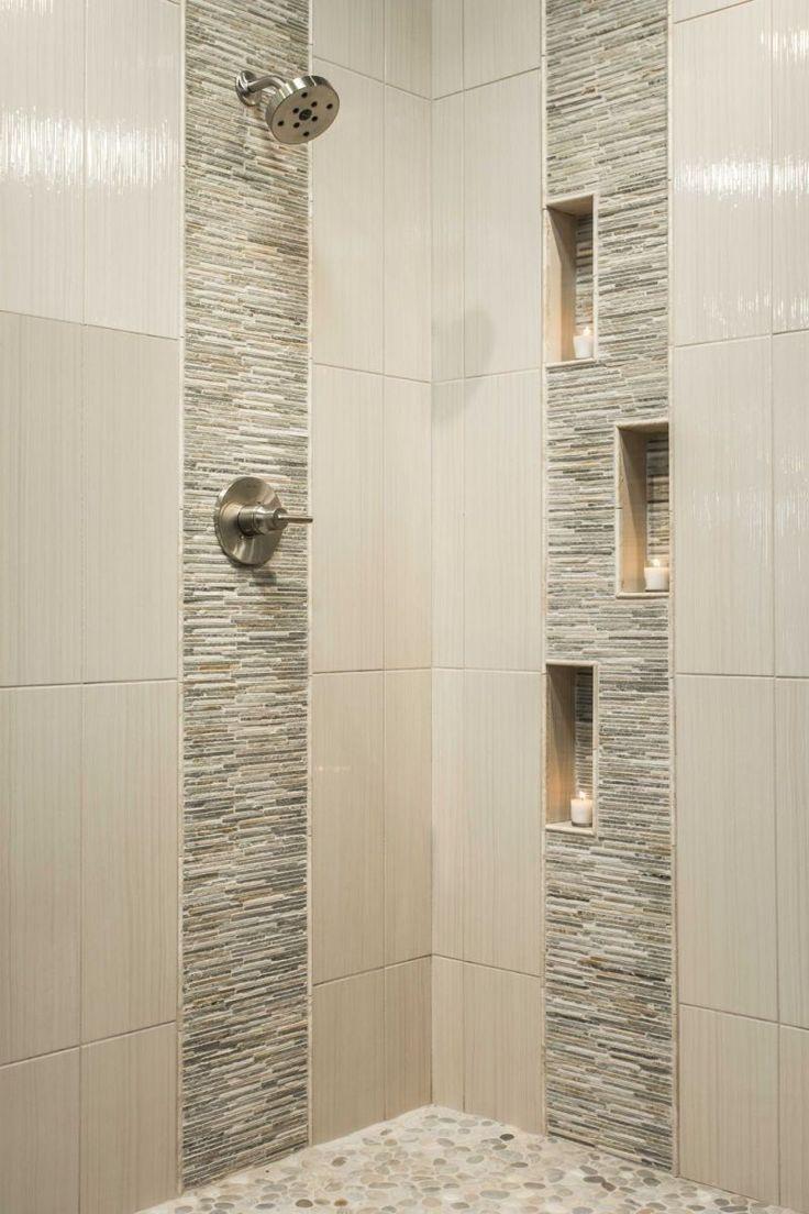 The 25+ best Shower tile designs ideas on Pinterest   Bathroom ...