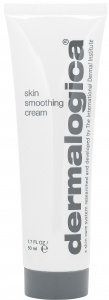 DERMALOGICA SKIN SMOOTHING CREAM- great for combination skin! The vitamin A.. really helped me with acne scars!