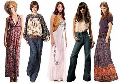 Moda Anos 70 a