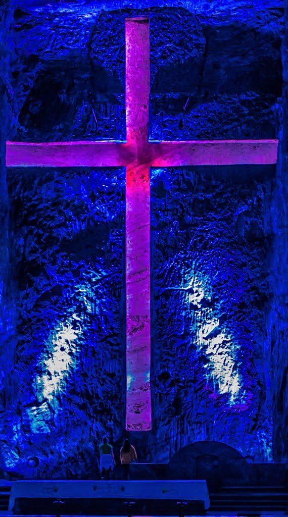 Zipaquira: Catedral de la sal, la Cruz (The big cross)
