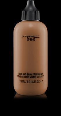 MAC Cosmetics: Studio Face and Body Foundation (don't know my MAC coloring, though)