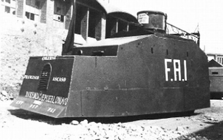 Spain - 1936-39. - GC - Tiznao Blindado Torras 3 der Kolonne Ascaso