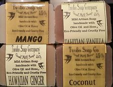 Asst of summery handmade Goat Milk Soap  Discount Shipping  + FREE SAMPLES