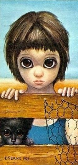 """Watching"" by Margaret Keane"