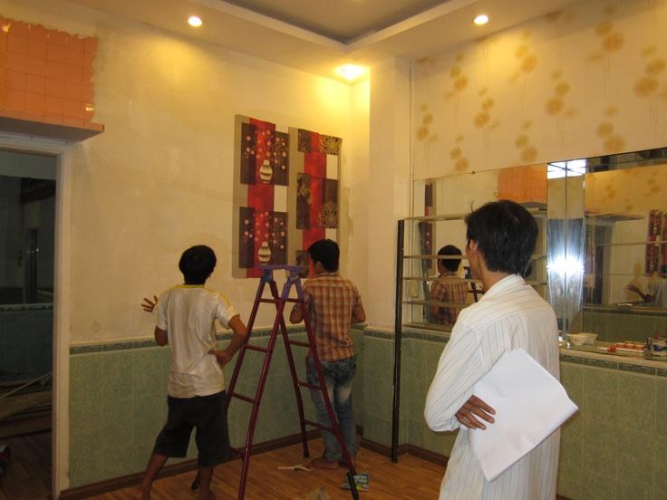 Địa chỉ mua giấy dán tường đẹp ưng ý giá rẻ tại TPHCM