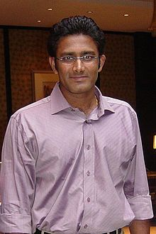 Anil Kumble, a great leg break bowler played during 1989 to 2010 in 244 matches including 132 tests. He made 5572 runs and took 1136 wickets with best bowling of 10 for 74.