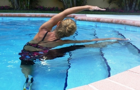 """Water exercise with """"Aquapro Fitness"""" in Boca Raton, FL Home"""