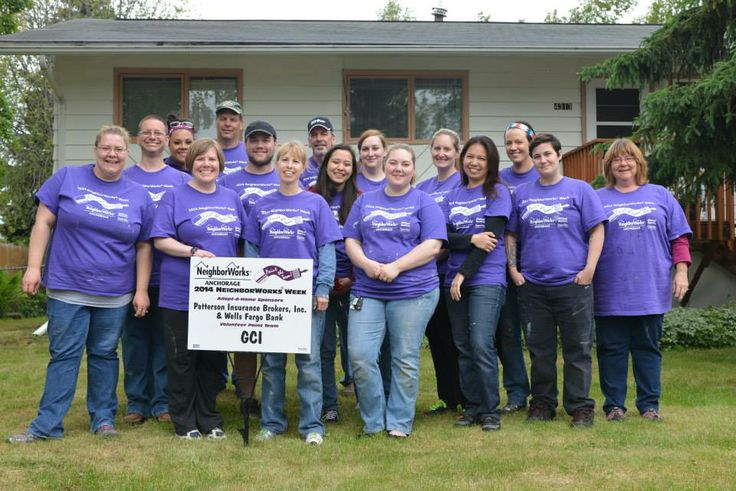 A group of GCI employees volunteered to help paint a home for a local Paint the Town event. Paint the Town is community program organized by NeighborWorks Anchorage to paint homes for single parents, veterans, seniors, people with disabilities, and other homeowners with limited capacity. GCI is a proud sponsor of this event.
