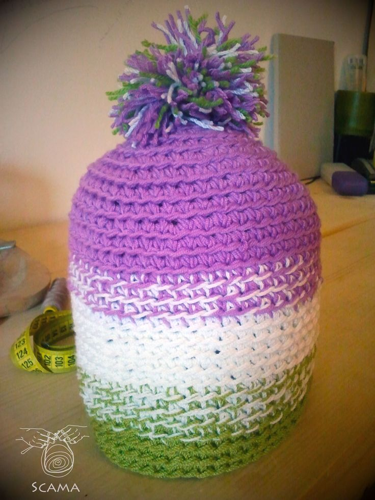 Hand made hat from cotton, It's warm and windproof.