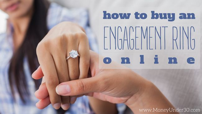 If you buy an engagement ring online, you can save 50% over store prices; buying a diamond online is easy if you choose the right store. Here's how.