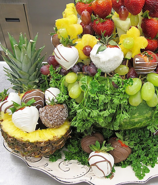 Best images about fruit carving and edible centerpieces