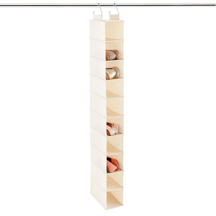17 best ideas about hanging shoe organizer on
