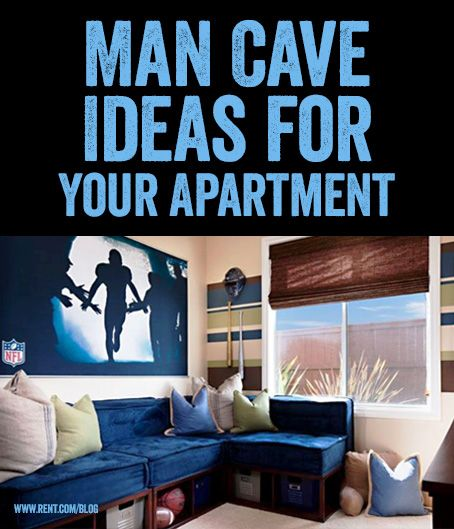 Everyone needs a space that is all their own. Whether it's cloaked in sports memorabilia or video games, man cave decor can set the mood for a masculine sanctuary. #DecoratingIdeas