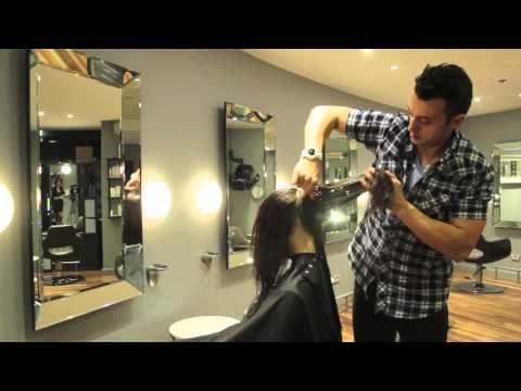 Victoria Secret Haircut - OVERVIEW - Model Alice Anderson - YouTube