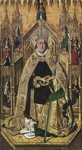 The 20th of December is the feast day of Saint Dominic of Silos. He is the patron saint of against rabies; against rabid dogs; against insects; captives; pregnant women; prisoners; and shepherds. Read more at http://www.gotomary.com/2017/12/saint-dominic-of-silos.html  #saintoftheday #saints #saint #catholic #catholicsaint #catholicsaints #catholicsaintinfo #catholicfaith