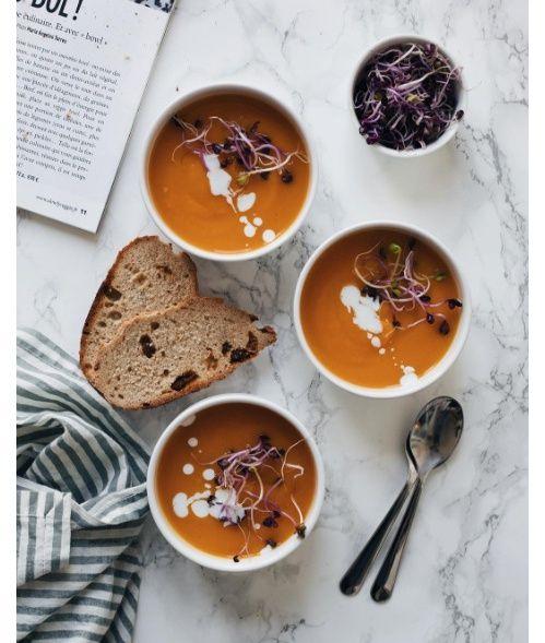 Les soupes d'Amélie Tauziede