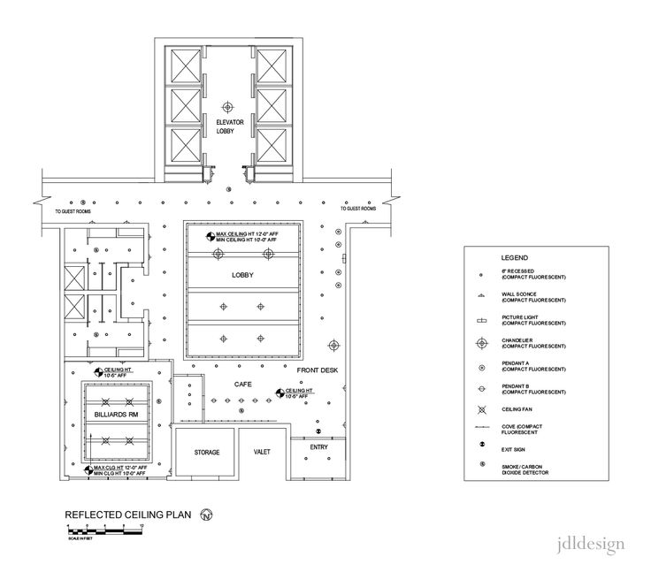 Preliminary Floor Plans And Reflected Ceiling Plans