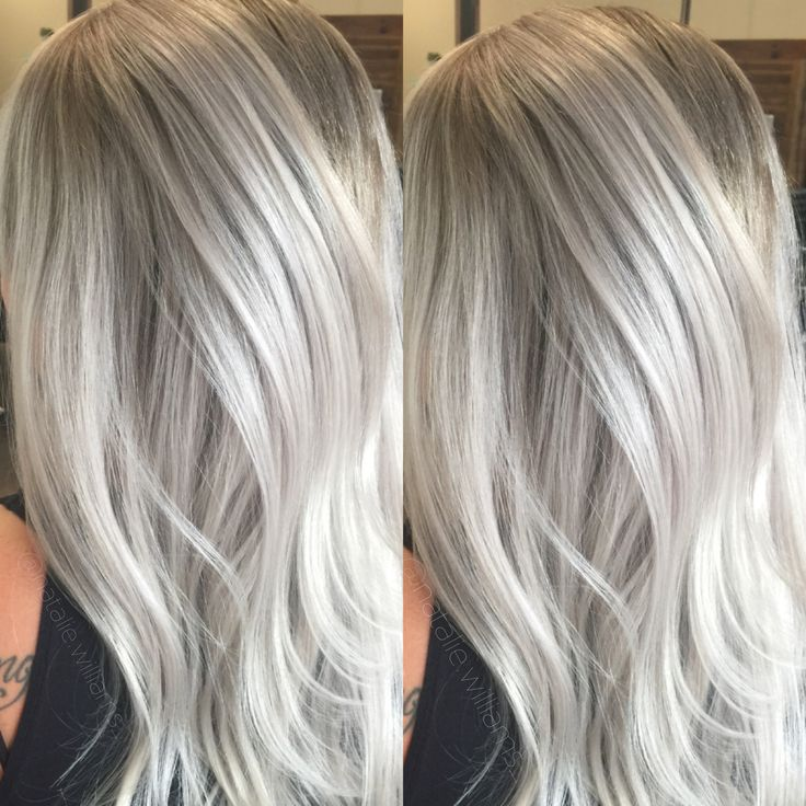 Silver hair, grey hair, white hair