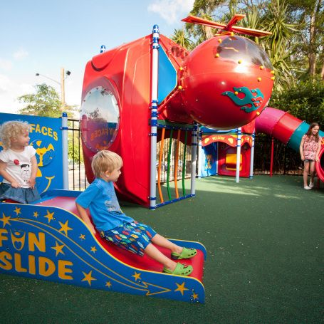 Outdoor playground in North Ryde