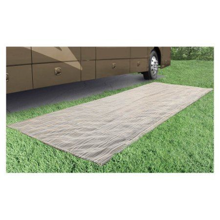 Prest-O-Fit 2-3001 Aero-Weave Breathable Outdoor Mat Santa Fe Brown 6 Ft. x 15 Ft.