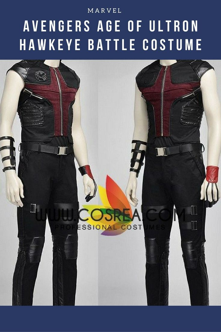 Avengers Age Of Ultron Hawkeye Battle Cosplay Costume - Visit to grab an amazing super hero shirt now on sale!