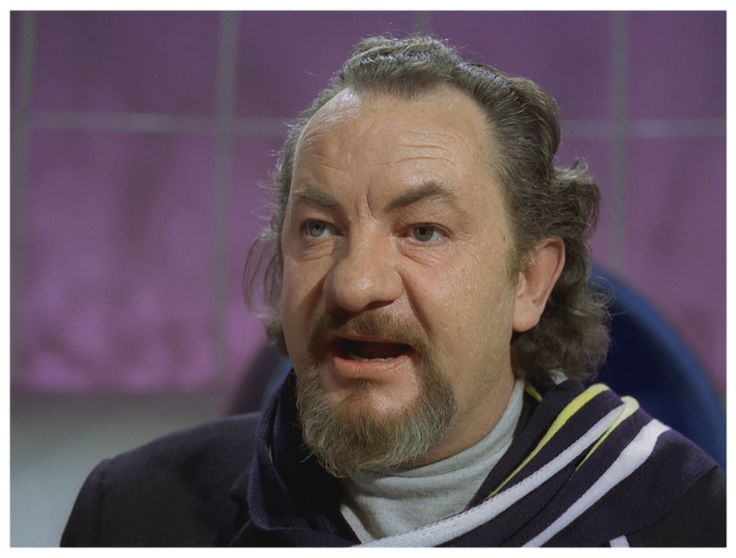Leo McKern as Number Two.