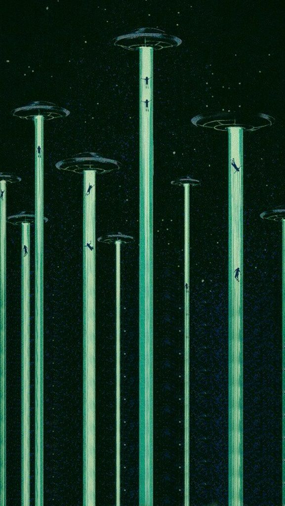 ufo background ✧ BY: homescreens on tumblr