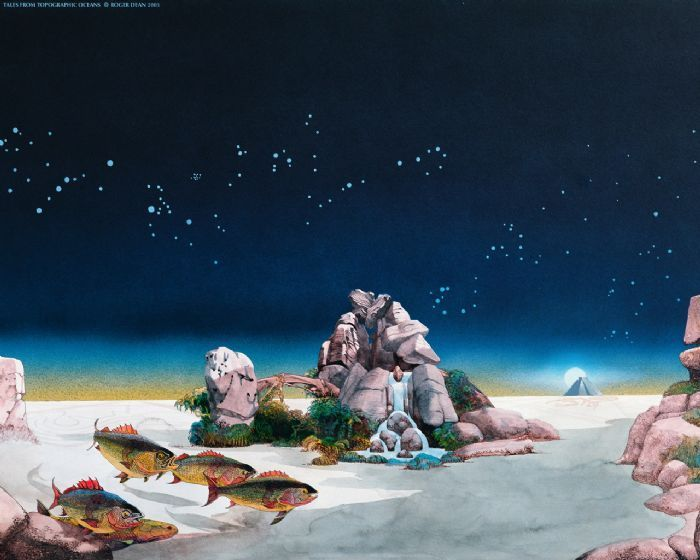 Roger Dean - Yes - Tales from Topographic Oceans (1973)