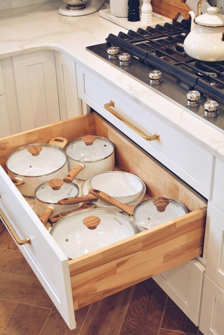 15 Creative Diy Storage And Organization Ideas For Small Kitchens 1 In 2020 Kitchen Organization Kitchen Cabinet Organization Kitchen Style