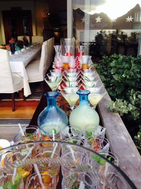 Refreshing cocktails at Tintswalo Atlantic