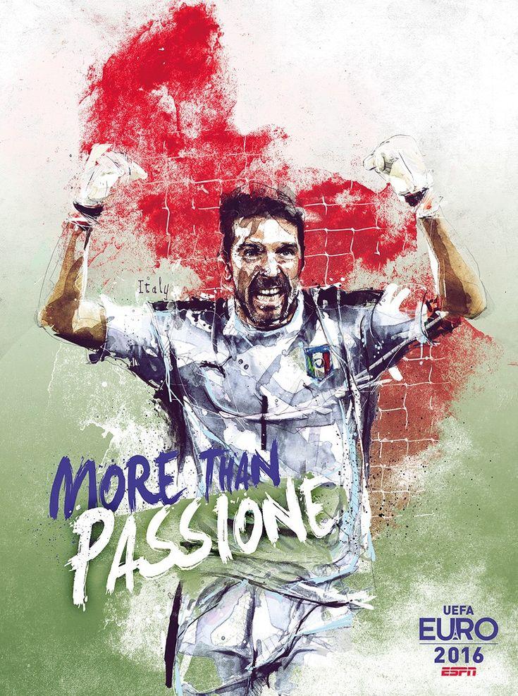 Euro 2016 : Gigi Buffon, passion Italie