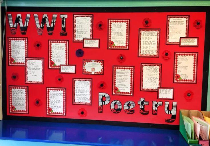 ww1 poetry essay