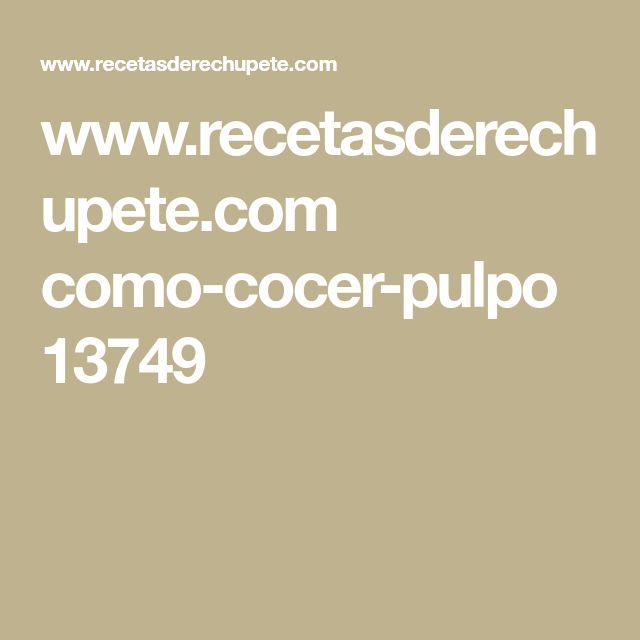 www.recetasderechupete.com como-cocer-pulpo 13749