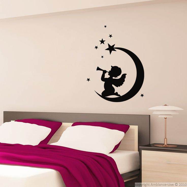 13 best galerie sticker anges angels decal gallery images on pinterest angels decal and angel. Black Bedroom Furniture Sets. Home Design Ideas