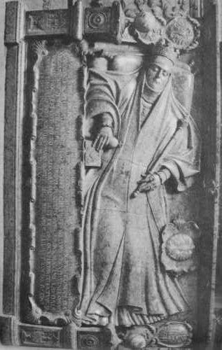 Santi Gucci - Nagrobek Anny Jagiellonki 1575