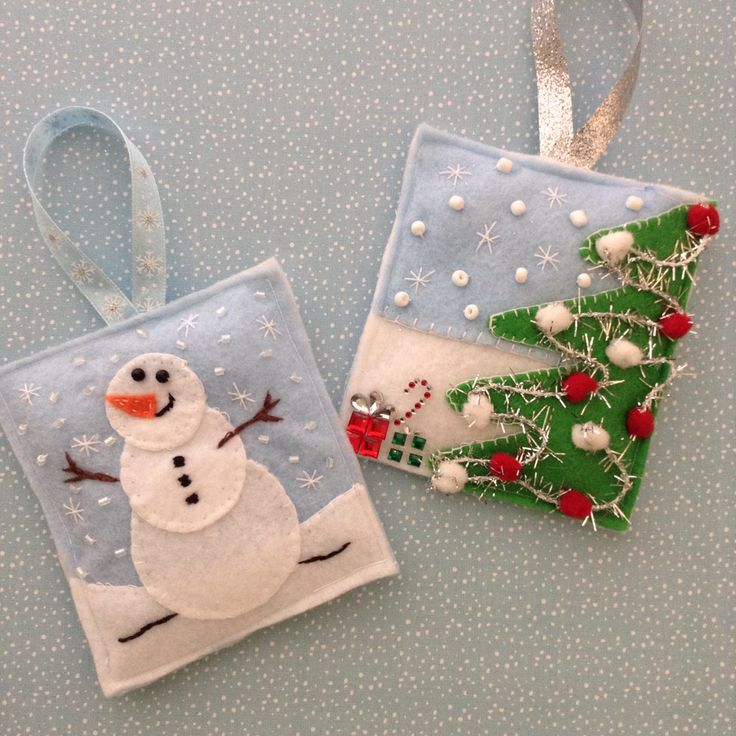 3930 Best Images About Christmas On Pinterest Felt Hearts Felt Christmas Decorations And Felt