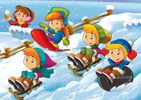 зимние забавы картинки для детей: 9 тыс изображений найдено в Яндекс.Картинках